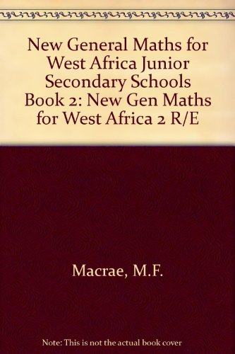 New General Maths for West Africa Junior: Chima, Z I