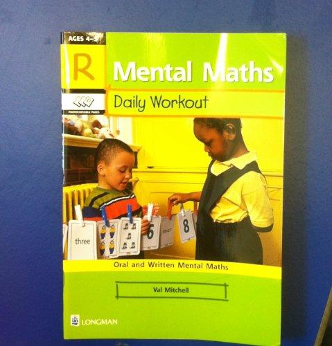9780582410725: Mental Maths: Reception