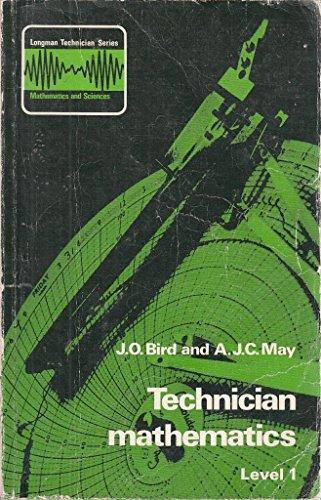 9780582411609: Technician Mathematics: Level 1 (Longman technician series : mathematics and sciences)
