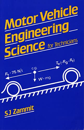 9780582413023: Motor Vehicle Engineering Science for Technicians (Longman Technician Series)