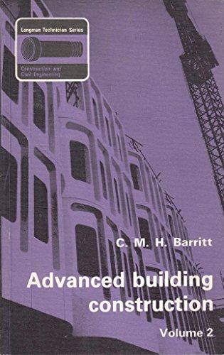 9780582413528: Advanced Building Construction: v. 2