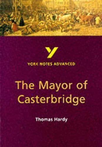 9780582414716: York Notes on Thomas Hardy's Mayor of Casterbridge