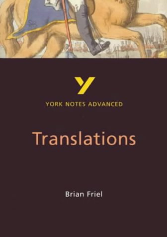 9780582414754: Translations (York Notes Advanced)