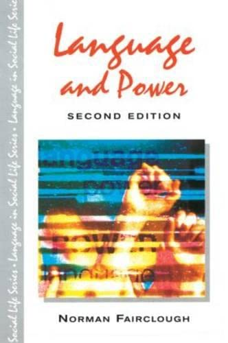 9780582414839: Language and Power (Language In Social Life)