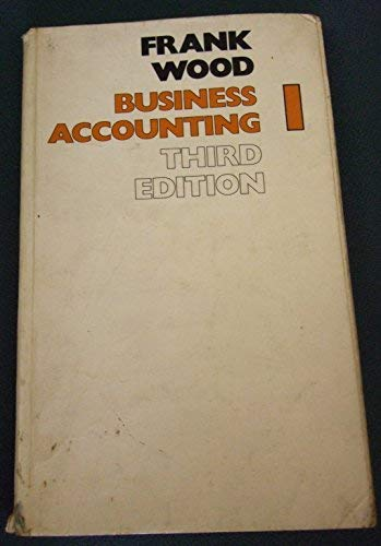 9780582415607: Business Accounting: v. 1 (LBS)