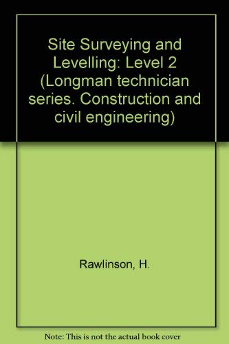 9780582415973: Site Surveying and Levelling: Level 2