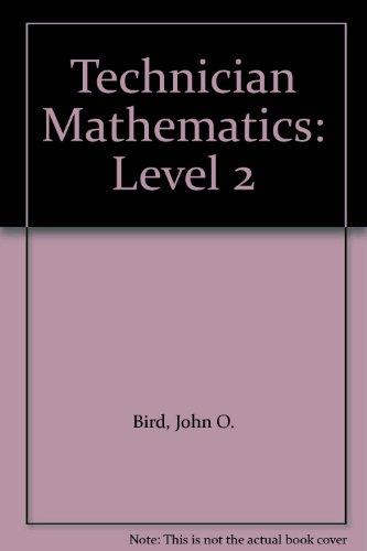 Technician Mathematics: Level 2 (Longman technician series): May, A.J.C., Bird,