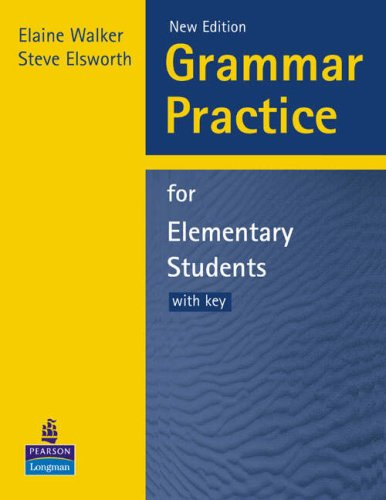 9780582417069: Grammar Practice for Elementary Students: With Key