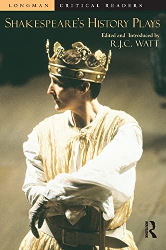 9780582418318: Shakespeare's History Plays (Longman Critical Readers)