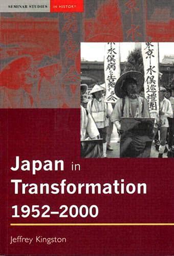 9780582418752: Japan in Transformation, 1952-2000
