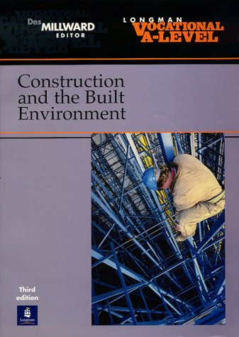 9780582418837: Vocational A-Level Construction and the Built Environment (Advanced Gnvq)