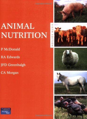 9780582419063: Animal Nutrition