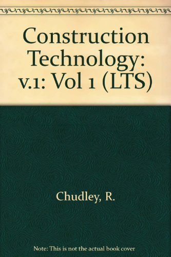 9780582420182: Construction Technology: v.1 (LTS) (Vol 1)