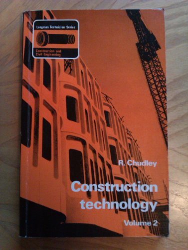 9780582420250: Construction Technology (Longman technician series)