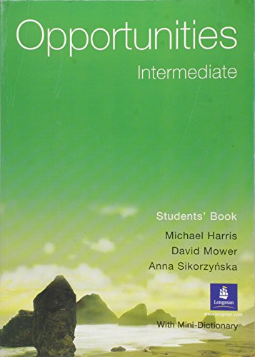 9780582421349: Opportunities Intermediate Global Students' Book