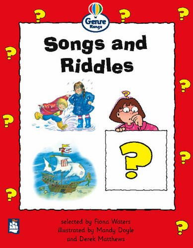 9780582422933: Songs and Riddles Genre Beginner stage Poetry Book 2 (LITERACY LAND)