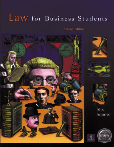 9780582423312: Law for Business Students