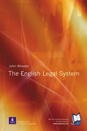 9780582424050: The English Legal System (Frameworks Series)