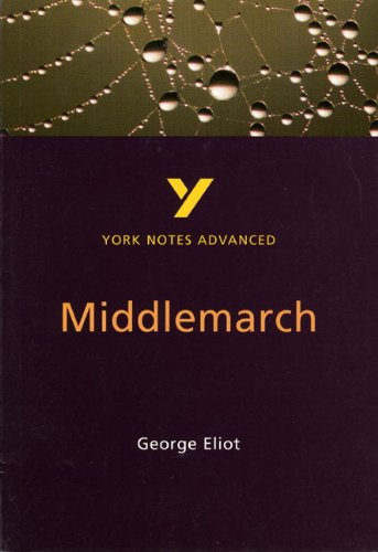 9780582424500: Middlemarch (2nd Edition) (York Notes Advanced)