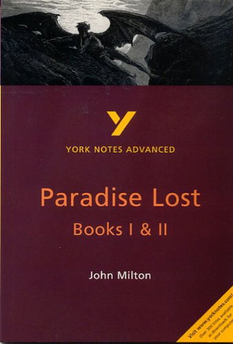 Paradise Lost I and II (2nd Edition) (York Notes Advanced): Ridden, Geoff