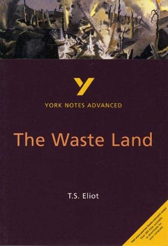 9780582424746: The Waste Land (2nd Edition) (York Notes Advanced)