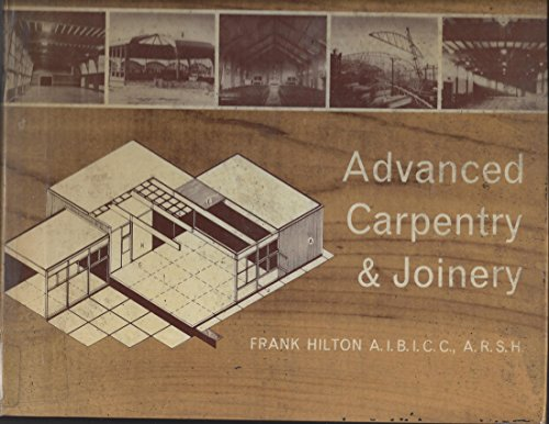 9780582425163: Advanced Carpentry and Joinery
