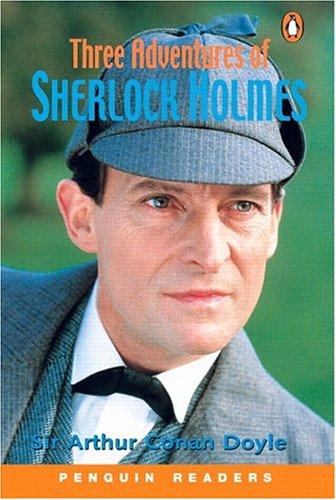 9780582426870: Three Adventures of Sherlock Holmes (Penguin Readers, Level 4)