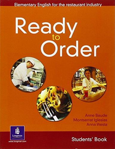 9780582429550: Ready to order. Student's book. Per le Scuole superiori