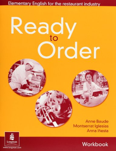 9780582429567: Ready to Order Workbook with Answer Key: Elementary English for the Restaurant Industry