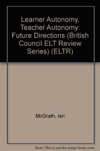 9780582429635: Learner Autonomy, Teacher Autonomy: Future Directions