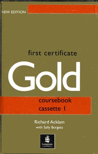 9780582429727: First Certificate Gold Class Cassette 1-2 New Edition