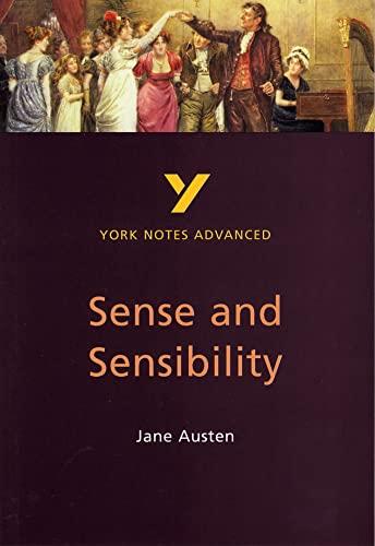 9780582431423: Sense and Sensibility (2nd Edition) (York Notes Advanced)