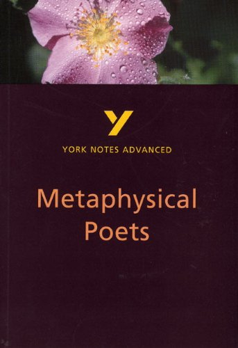 9780582431584: Metaphysical Poets: York Notes Advanced