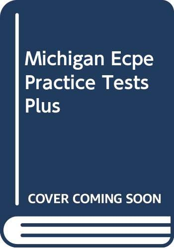 9780582433038: Michigan Ecpe Practice Tests Plus: Michigan ECPE Tests Plus TBk (MICH)