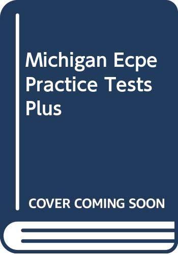 9780582433038: Michigan Ecpe Practice Tests Plus: Michigan ECPE Tests Plus TBk (MICH)
