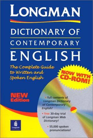 9780582433977: Dictionary of contemporary english. Con CD-ROM: Plus CD-Rom (Longman Dictionary of Contemporary English)