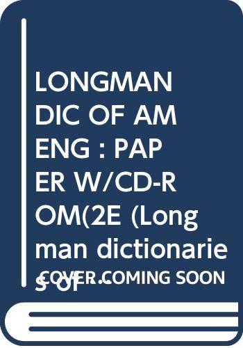 9780582434011: Longman Dictionary of American English: Ldae Paper and CD Pack (Longman Dictionaries of American English)
