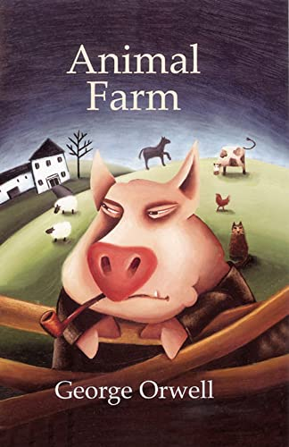 Image result for animal farm book cover longman