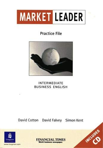 9780582435223: Market Leader Intermediate. Business English. Practice File Pack mit CD