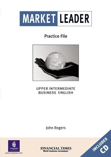 9780582435254: Market Leader, High-Intermediate Practice File Pack (Book and CD)