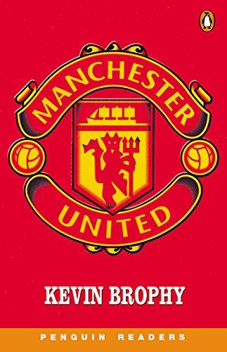 9780582436121: Manchester United Book & Cassette: Level 3 (Penguin Readers (Graded Readers))