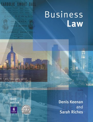 9780582438156: Business Law