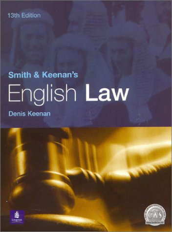 9780582438163: Smith and Keenan's English Law (13th Edition)