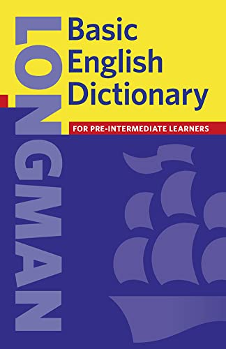 9780582438507: Basic English Dictionary 3rd Edition