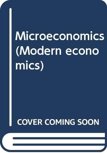 9780582440753: Microeconomics (Modern economics)