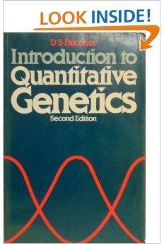 9780582441958: Introduction to Quantitative Genetics