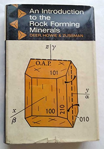 9780582442092: An Introduction to the Rock Forming Minerals