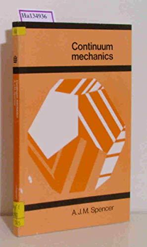 9780582442825: Continuum Mechanics (Longman mathematical texts)