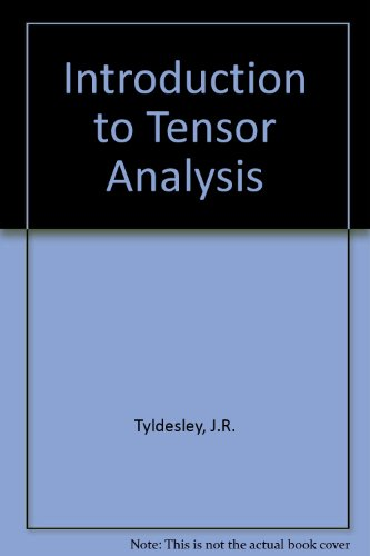 9780582443556: Introduction to Tensor Analysis