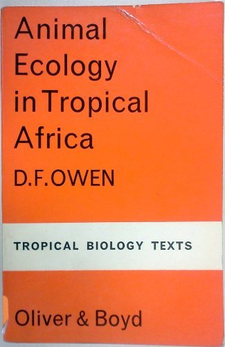 9780582443624: Animal Ecology in Tropical Africa (Longman Text)